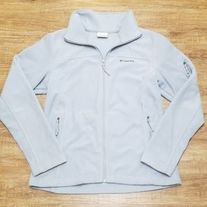 Columbia light weight fleece jacket
